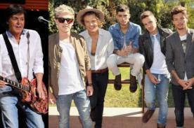 Paul McCartney: Me gusta One Direction, son jóvenes y hacen buenos discos