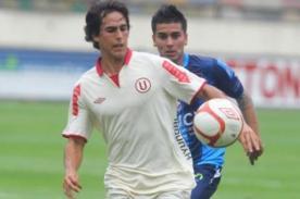Rafael Guarderas: Estoy feliz por anotar mi primer gol con Universitario