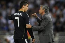 José Mourinho: Entrenar a Cristiano Ronaldo fue lo mejor de mi carrera