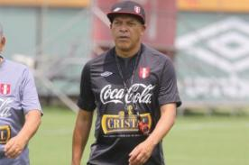 Roberto Mosquera: Voy a dirigir a la selección peruana con mucho amor