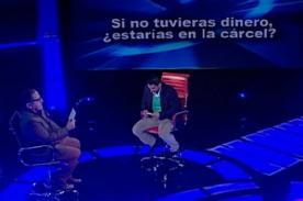 EVDLV: Luis Miguel Llanos afirma que si no tuviera dinero estaría en cárcel