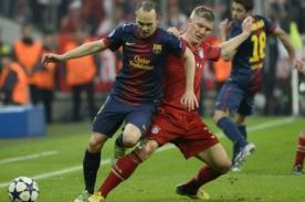 Andrés Iniesta quiere que Barcelona sea como Bayern Munich en el 2014