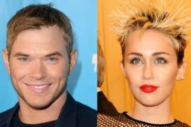 El actor Kellan Lutz se encuentra muy enamorado de Miley Cyrus