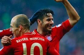 Bundesliga: Pizarro anotó en el 2 - 1 del Bayern Munich vs Stuttgart - Video