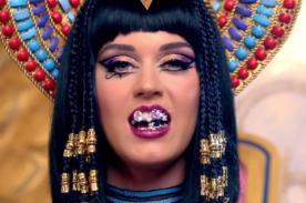Video: Katy Perry cual faraona en adelanto del videoclip de Dark Horse