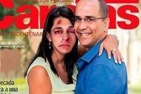 Parodian portada de revista con Pablo Secada y su pareja - FOTO