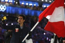 Sochi 2014: Roberto Carcelén llegó a la meta pese a dos costillas rotas