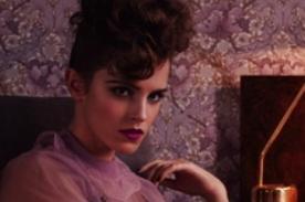Emma Watson derrocha sensualidad para la revista 'Elle' - FOTOS