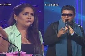 Yo soy: Katia Palma 'encaró' a imitador de Eddy Herrera - Video