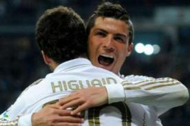 Barcelona vs. Real Madrid: Cristiano Ronaldo celebró el gol de Di María - VIDEO