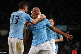 Manchester City: La extasiada celebración por gol de Vincent Kompany - VIDEO