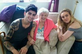 Zayn Malik conoció a la fan más vieja de One Direction [Fotos]