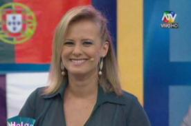 ¡Rossana Fernández Maldonado revela en vivo que está embarazada!