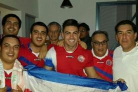 Combate: Coto celebró con Karen Dejo por el triunfo de Costa Rica [FOTO]