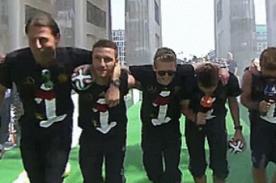 Selección alemana parodió a One Direction al ganar la Copa del Mundo
