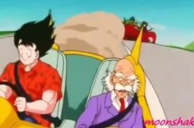 Dragon Ball Z: Escuela de manejo utiliza a Gokú para promocionarse [VIDEO]