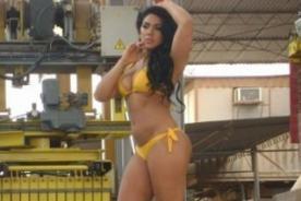 Vania Bludau prepara demanda por fotos sin Photoshop y sin retoques