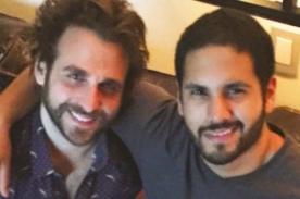 Rodrigo González 'Peluchín' sale del clóset y presenta a su novio - FOTO