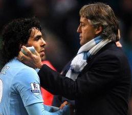 Champions League 2011: Carlos Tévez se negó a entrar