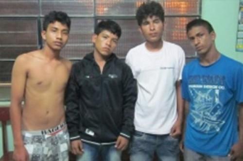 Banda apodada Los Guachiturros fue capturada en Tumbes