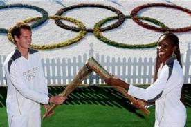 Olimpiadas 2012: Andy Murray y Serena Williams llevaron la antorcha