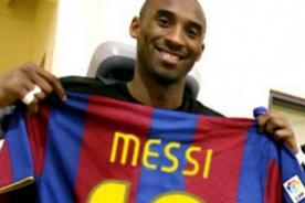 Barcelona: Kobe Bryant invita a Messi para una práctica con los Lakers