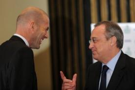 Florentino Pérez: 'Zinedine Zidane entrenará algún día al Real Madrid'