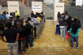 Perú vs. Ecuador: Se acabaron las entradas - Eliminatorias 2014