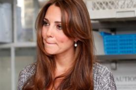 Temen por seguridad de Kate Middleton tras dar a luz