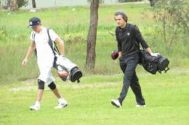 One Direction: Harry Styles y Niall Horan juegan golf en Australia - Fotos
