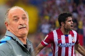 Video: Scolari confesó convocatoria de Diego Costa por una broma telefónica