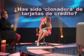 Shirley Arica se salva de responder si ha sido clonadora de tarjetas - Video