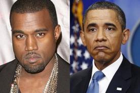 Kanye West a Barack Obama: No menciones mi nombre ni el de Kim Kardashian