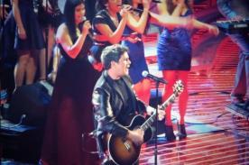 Latin Grammy: Alejandro Sanz realizó una vibrante presentación