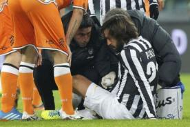 Juventus: Andrea Pirlo será baja hasta el próximo año por lesión