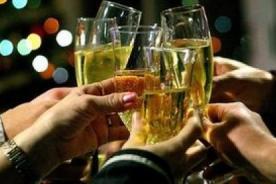 3 bebidas para brindar - Conoce sus calorías