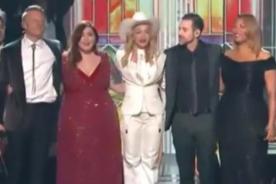 Grammy 2014: Madonna y Queen Latifah casaron a 33 parejas - VIDEO