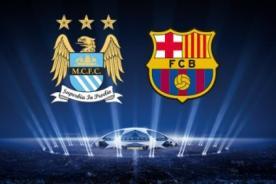 Minuto a Minuto: Barcelona vs Manchester City en vivo por ESPN - Champions League