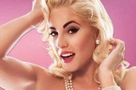 Yamila Piñero se convierte en Marilyn Moroe para la revista Pandora - FOTOS