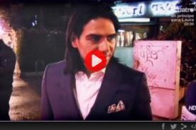 Reunión secreta: Florentino, Falcao y Txiki cenan juntos en Madrid - VIDEO