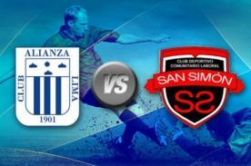 Copa Inca 2014: Alianza Lima vs. San Simón, transmisión en vivo por CMD