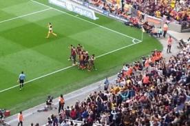 Video: Gol del Barcelona (1) - Atlético Madrid (0) - Liga BBVA 2014