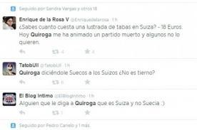 Amistoso Perú vs Suiza: 'Vacilan' a Ramón Quiroga en Twitter