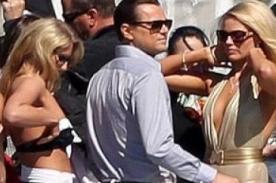 Mundial 2014: Leonardo DiCaprio también tiene sus Chicas Doradas en Brasil [Foto]