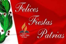 Frases para Facebook en español por Fiestas Patrias este 28 de julio