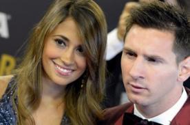Esposa de Lionel Messi sufrió tremendo descuido en yate [FOTO]