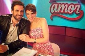 Amor Amor Amor: ¡Gigi Mitre y Peluchín pasan la vergüenza de su vida en vivo! - FOTO