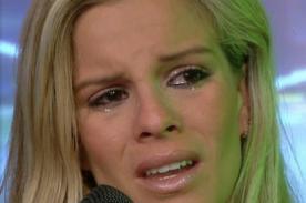 Alejandra Baigorria llora al recordar agresión de Guty Carrera - VIDEO
