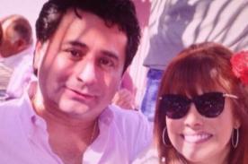 ¿Tan rápido?: Magaly Medina causa polémica con esta foto al lado de su esposo