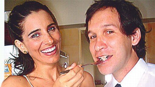 Ex esposo de Laura Borlini fue captado con nueva acompañante